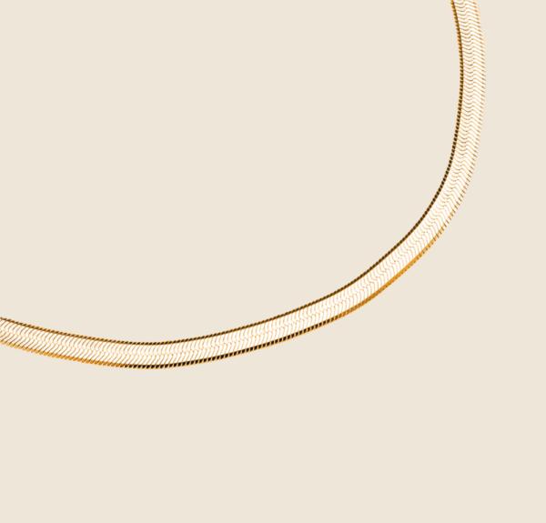 Big Snake Skin necklace