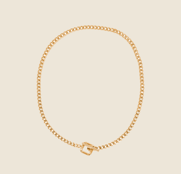 Ally necklace gold