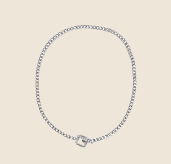 Ally necklace silver