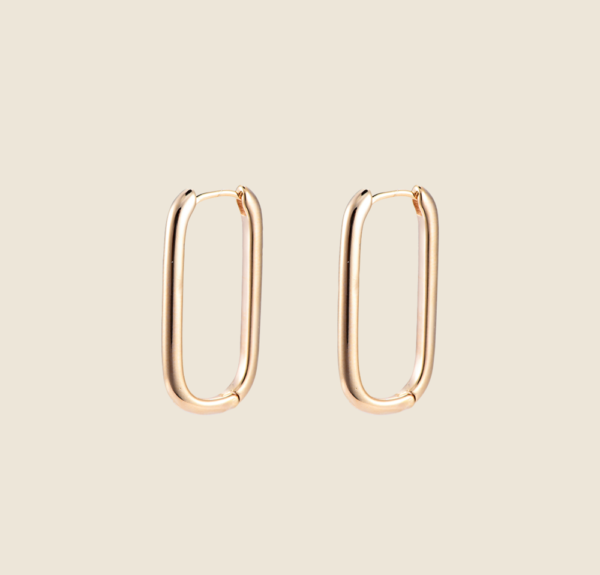 Claire earrings gold