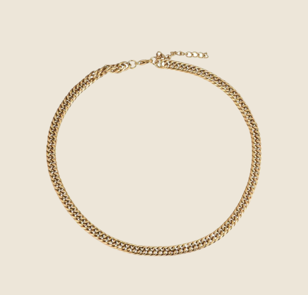 Francis necklace gold